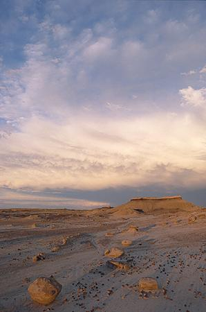 Picture of the Bisti Badlands