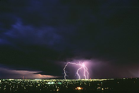 "lightning picture ""Sheraton Hill"""
